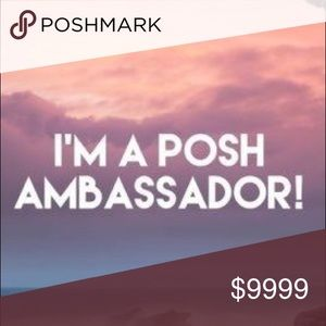 So excited to be a Posh Ambassador!